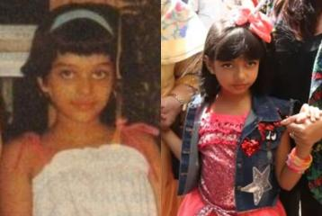 Aaradhya Bachchan Is a Replica of Her Mother Aishwarya Rai Bachchan, Here's a Proof!