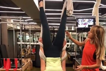 Alia Bhatt Acing Her First Session of Aerial Pilates Is A Major Fitspiration