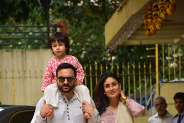 "Saif Ali Khan's ""Concept of India"" Comment Thrashed by BJP Leader While Naming Taimur in Twitter post"