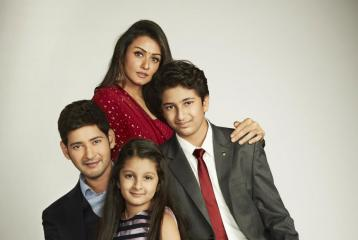 Mahesh Babu Works with His Entire Family