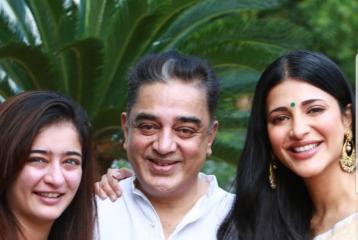 Kamal Haasan Celebrates 65th Birthday With Family In Tamil Nadu
