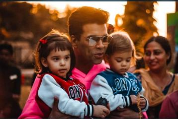 Karan Johar And The Three Times He Made Us Go Aww With Pictures Of His Twins