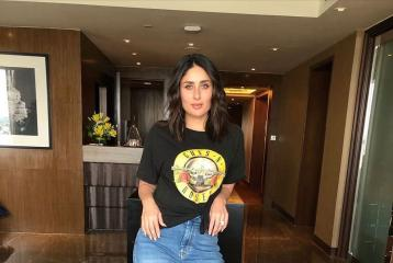 Kareena Kapoor's Camouflage Pants Are an Ode to the 90's