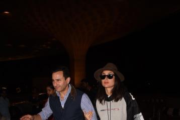 Kareena Kapoor, Saif Ali Khan Opt for Casual Looks at Jawaani Jaaneman Screening