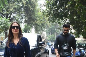 Arjun Kapoor, Malaika Arora Make Stylish Statement This Christmas