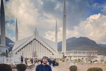 Khalid Al Ameri Is In Pakistan