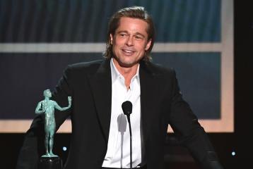 Brad Pitt's Speech at the SAG Awards is Disrespectful to Angelina Jolie. Here's Why.