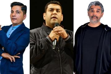 Indian, Pakistani Comics Come Together for a Show on 'LOC'