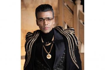 Karan Johar is Making a Major Statement in Recent Look For Extravagant Party