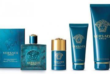 Versace Eros Bath Collection