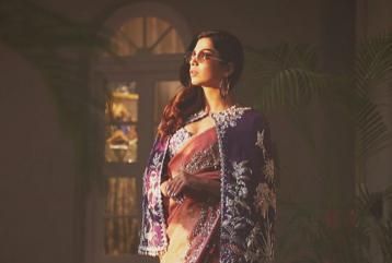 Sonya Hussyn Brings Her Own Twist to Plain Old Saris