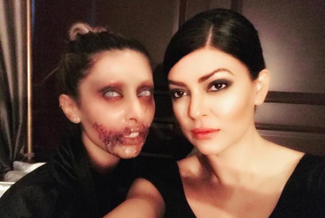Sushmita Sen Celebrates Halloween in Dubai