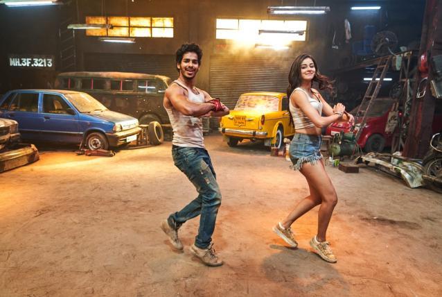 Ananya Pandey, Ishaan Katter's Khaali Peeli song Tehas Nehas falls flat despite sensual scenes