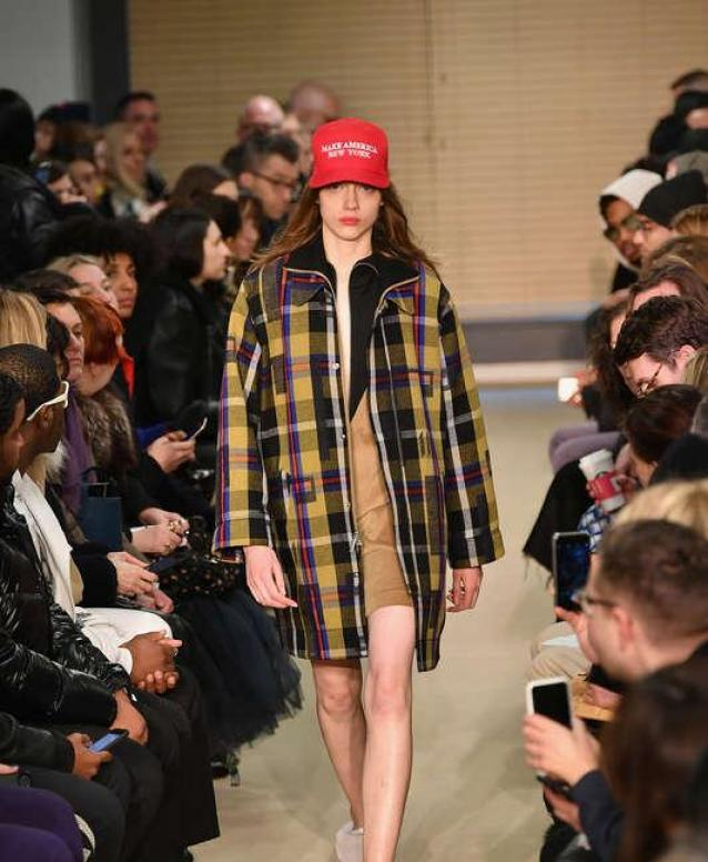 Designers Use The Fashion Runway To Make Strong Political Statements