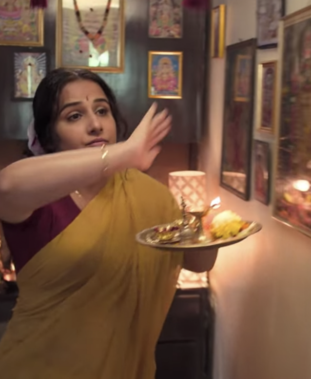 Vidya Balan in Mission Mangal