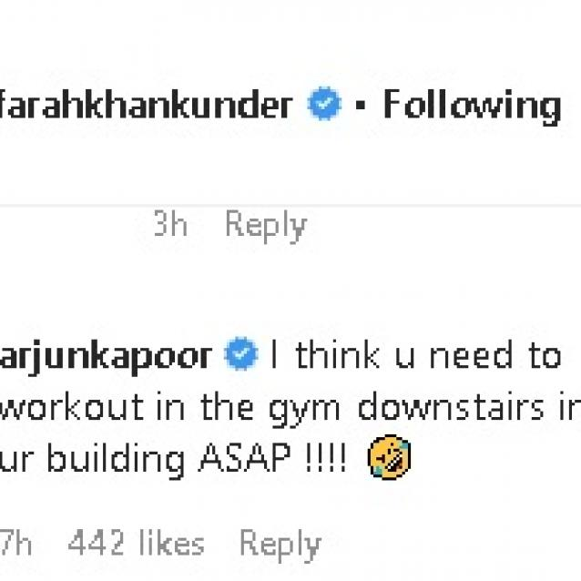 Farah Khan Wants Celebrities to Stop Posting Workout Videos. Check out Arjun Kapoor's Cheeky Reply