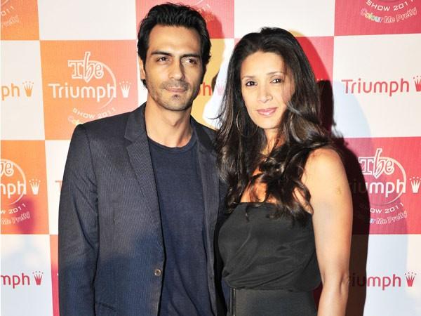 Is Arjun Rampal's Marriage On The Rocks?