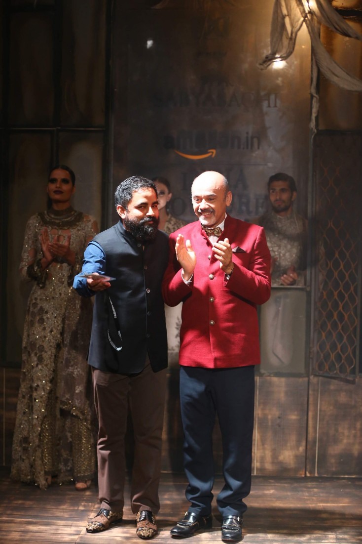 The fashion extraordinaires, Sabyasachi & Christian Louboutin