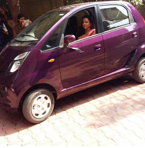 No Merecedes or BMW. Hema Malini Buys a Nano