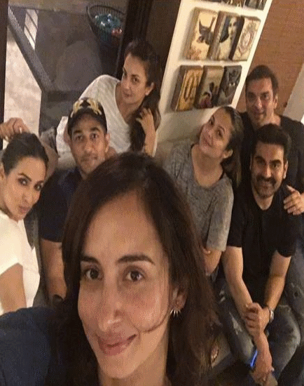 Cool-As-Cucumber Malaika-Arbaaz Chill Together Post Separation!