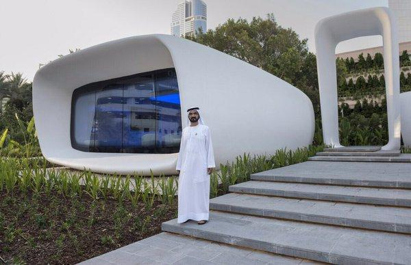 World's First 3D Printed Building Opens in Dubai