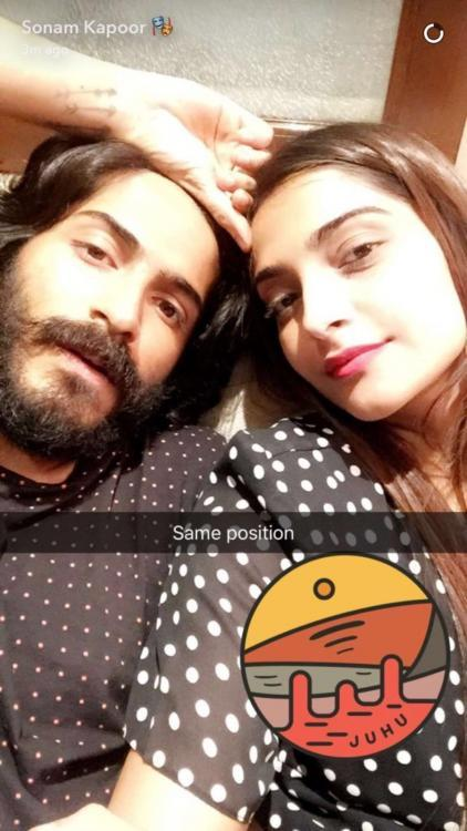 Who's That Dude Hanging Out With Sonam Kapoor?