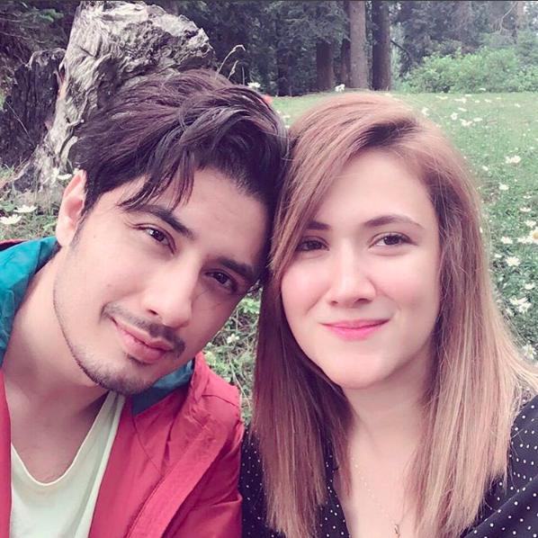 Cuteness Alert! Ali Zafar and Wife Ayesha Fazli's Latest Selfie Will Give You Relationship Goals!