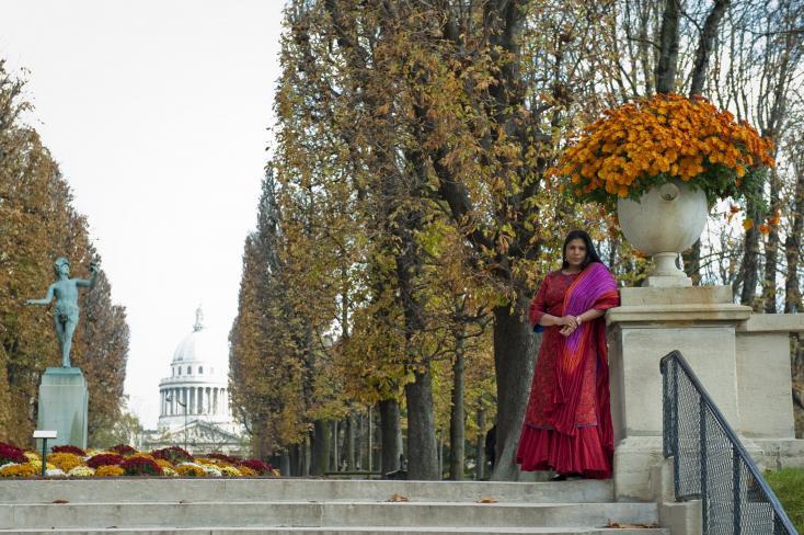 'I started making drawings on the reverse': Sujata Bajaj