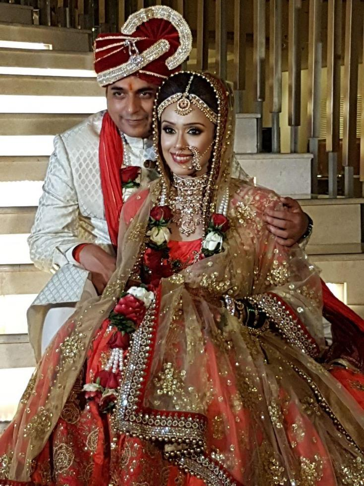 Hrishitaa Bhatt gets hitched!
