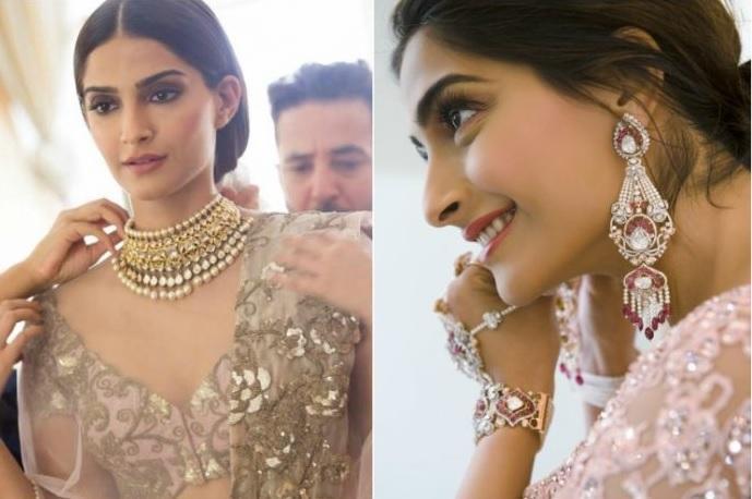Was Sonam Kapoor Shopping For Wedding Jewellery in Kolkata?