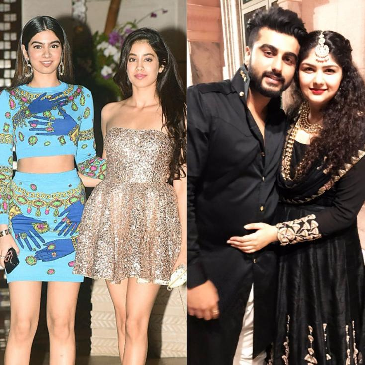 How Arjun and Anshula Kapoor Supported Boney, Jhanvi and Khushi After Sridevi's Demise