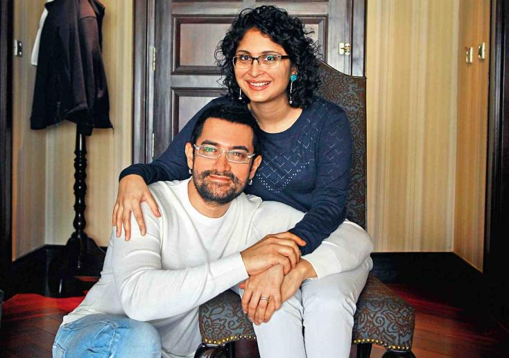 7 Years Later, Aamir Khan and Kiran Rao Engage in PDA in Front of Media