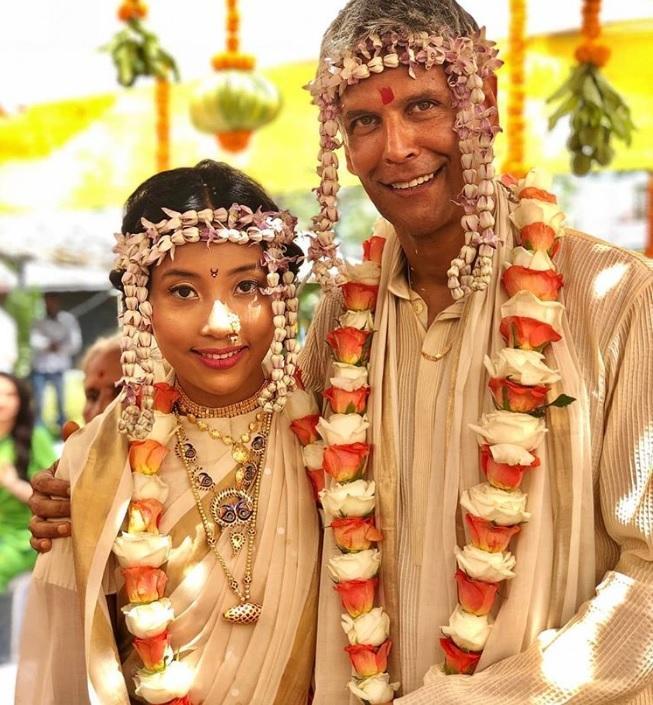 PICS: Inside Milind Soman and Ankita Konwar's Mehendi, Sangeet and Wedding Ceremony!