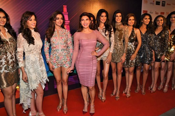 Jacqueline Fernandez attends Femini Miss India 2018 party