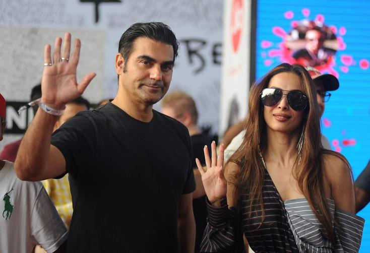 Arbaaz Khan's Ex Malaika and Current Girlfriend Giorgia Come Face to Face