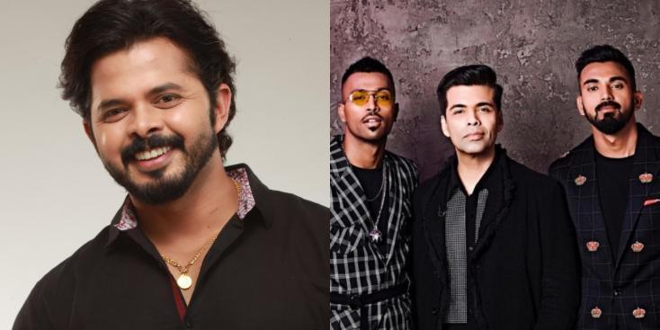 OMG! Sreesanth Blames Karan Johar For The Hardik Pandya-KL Rahul 'Koffee With Karan 6' Controversy