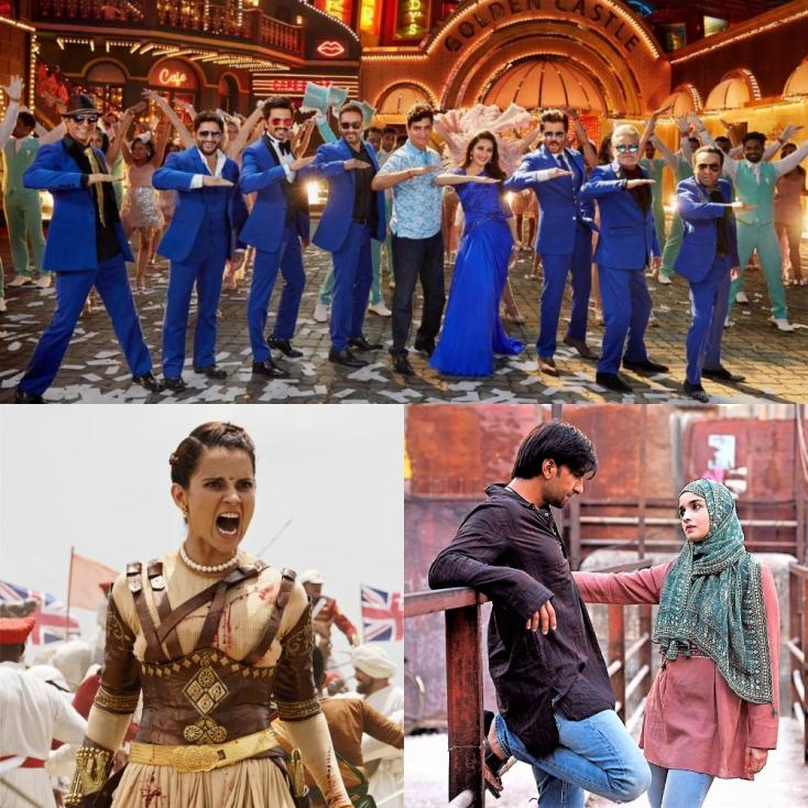Box Office Collections: Total Dhamaal Opens Well, Gully Boy crosses 100 CR, Manikarnika at 85 CR