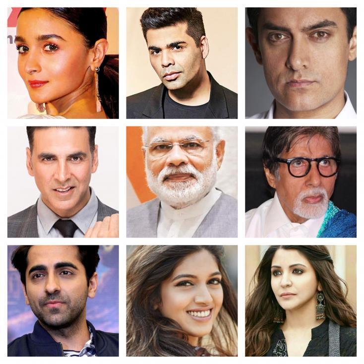 Aamir Khan, Akshay Kumar, Alia Bhatt and Karan Johar Support PM Narendra Modi's Request To Vote