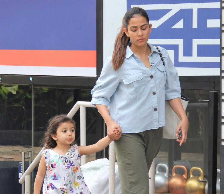 Mira Rajput Has a Mommy-Daughter Day Out With Misha!