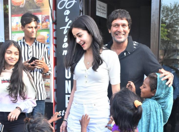 Ananya Panday Has a Family Day Out With Her Father and Sister