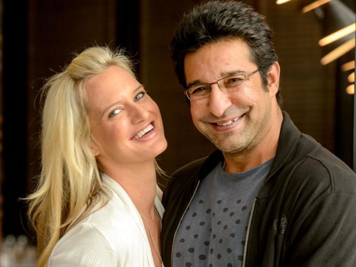 India vs Pak at Cricket World Cup: Wasim Akram's Wife, Shaniera, Supports Pakistan