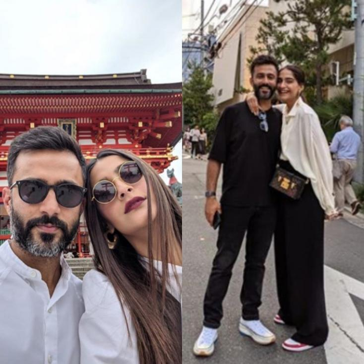 Sonam Kapoor Posts Heartfelt Caption in Holiday Picture with Husband Anand Ahuja