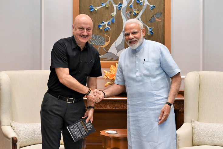 Anupam Kher cannot hold back his excitement after meeting PM Narendra Modi!