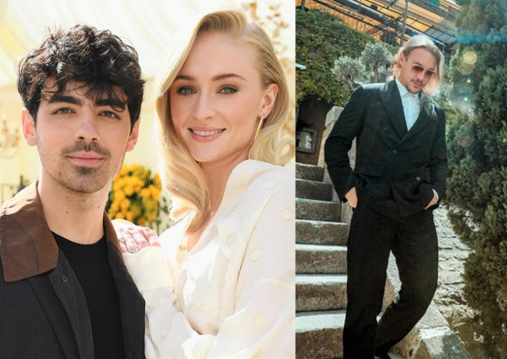 Joe Jonas and Sophie Turner Kept Diplo's Phone Out of His Sight During Second Wedding