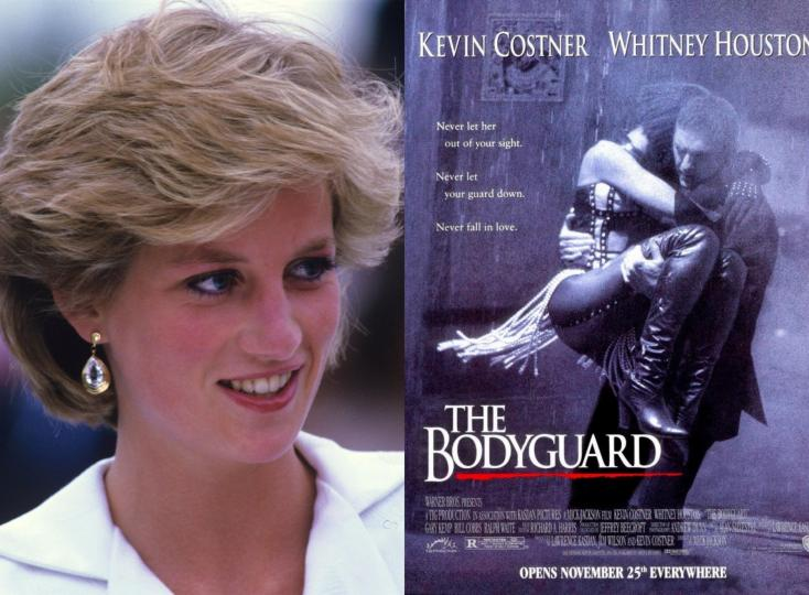 Princess Diana Was to Make Her Acting Debut in the Sequel of The Bodyguard