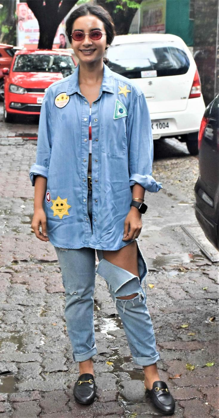 Patralekha rocked her all denim outfit