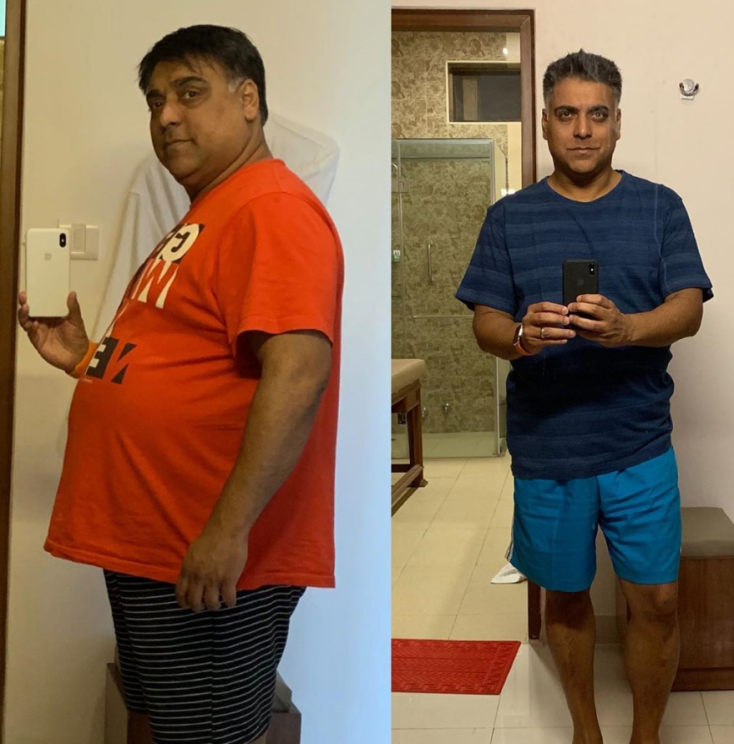 Television Actor Ram Kapoor Surprises Fans With His Weight Loss Transformation!