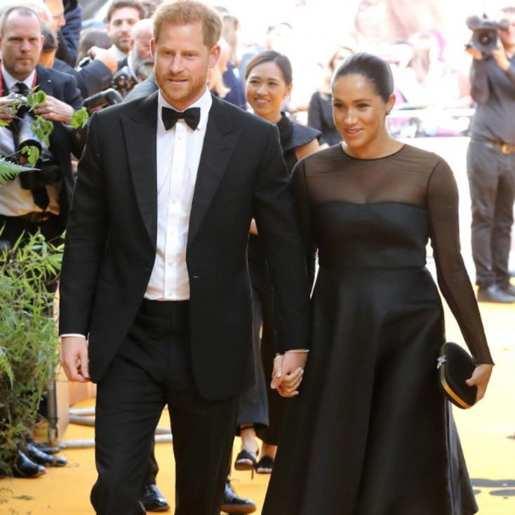 Meghan Markle and Prince Harry Attended the Lion King European Premiere in London