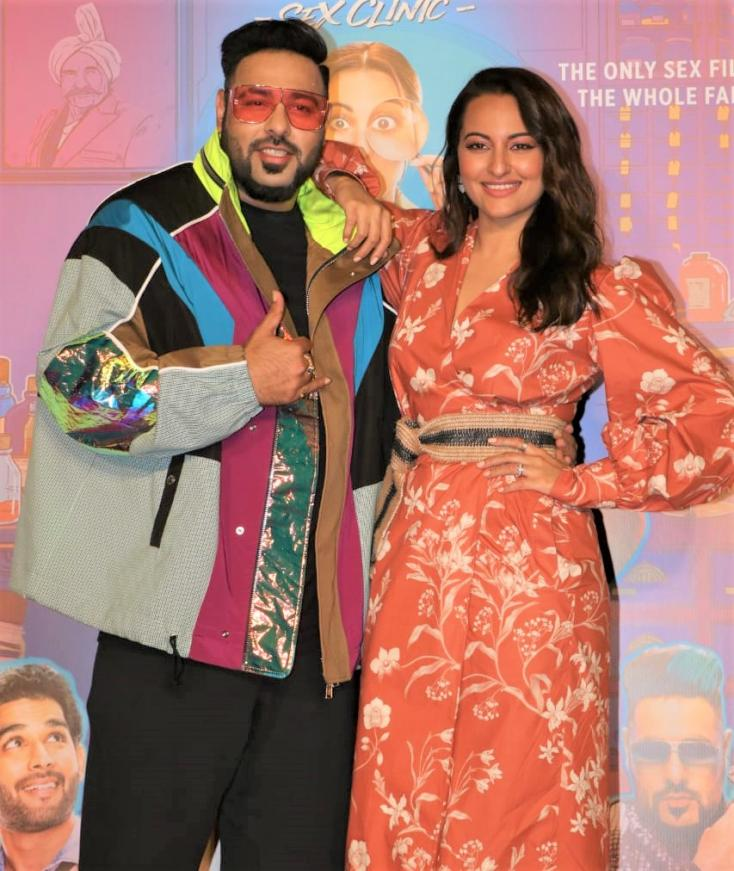 Rapper Badshah and Sonakshi Sinha were recently spotted at a song launch together