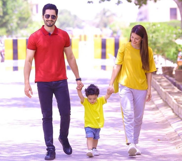 Ayeza Khan and Danish Taimoor Are Couple and Parent Goals in This Photo With Their Son Rayyan!